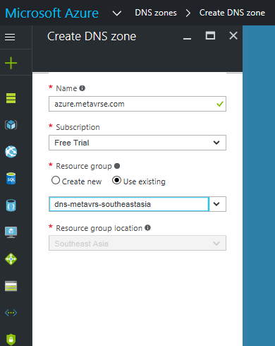 fill-required-details-in-the-dns-zone-information