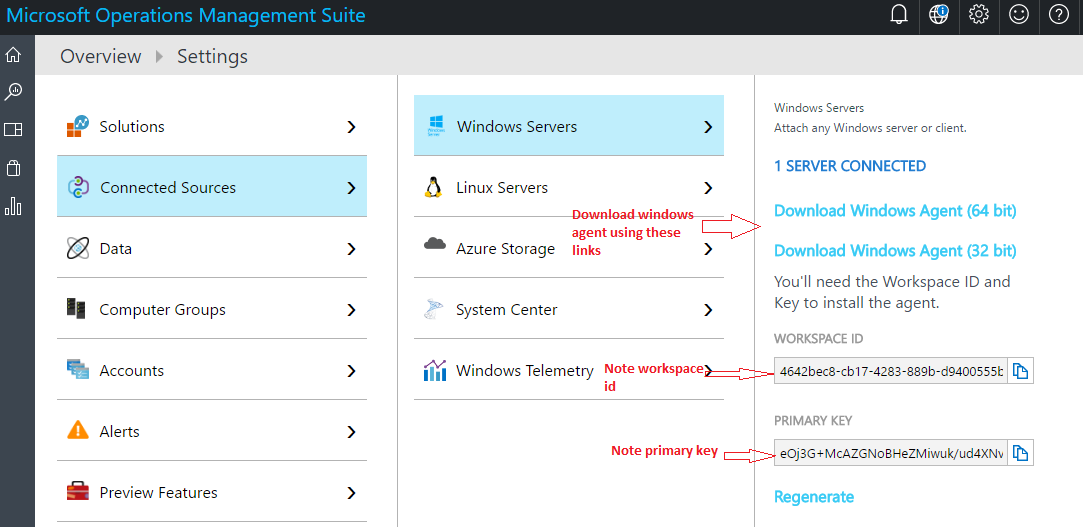 Configure Azure Automation hybrid runbook workers and run