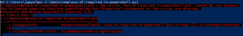 enforce-use-of-snapins-for-script