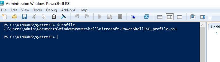 Understanding different (Six and more!) PowerShell profiles