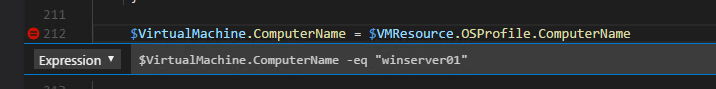 Define Conditional BreakPoint in Visual Studio Code