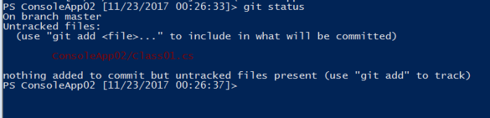 observing git changes from command line