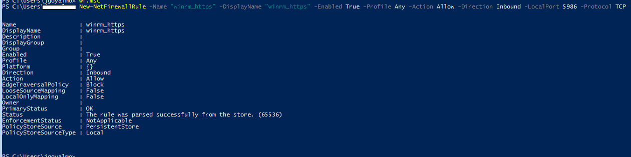 Copy files to/from remote machine using PowerShell Remoting
