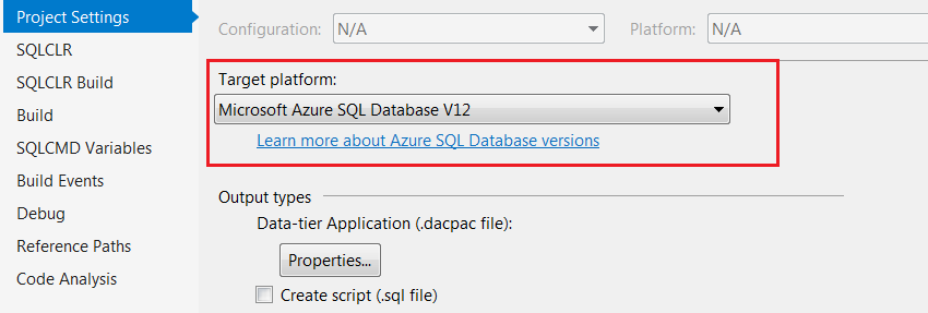 Continuous Integration and Deployment for SQL Database using SSDT