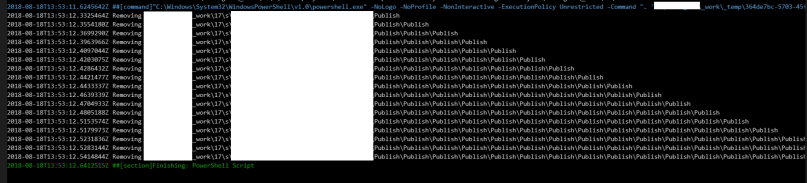 Clearing Publish directories before running dotnet build commands