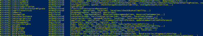 container instance not registered