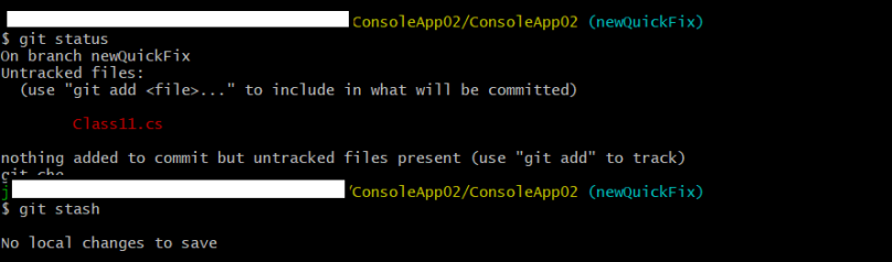 try to git stash for untracked files