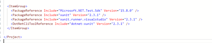 update package version for microsoft.net.test.sdk