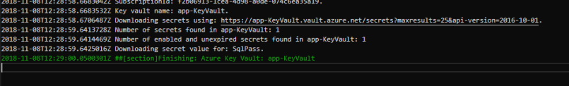 download secrets from azure key vault