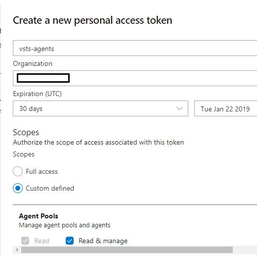 create a personal access token 02