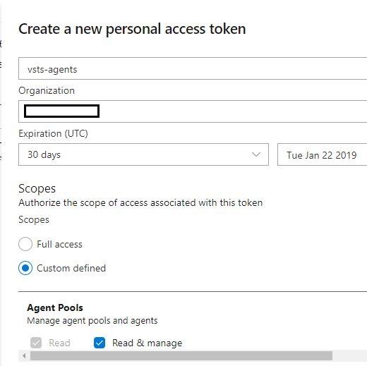 create a personal access token 02