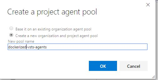 create a private agent pool