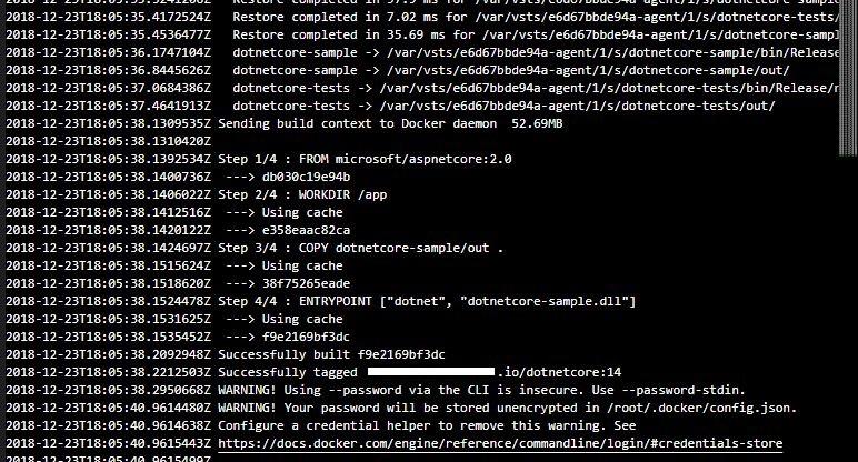 docker based build logs 02