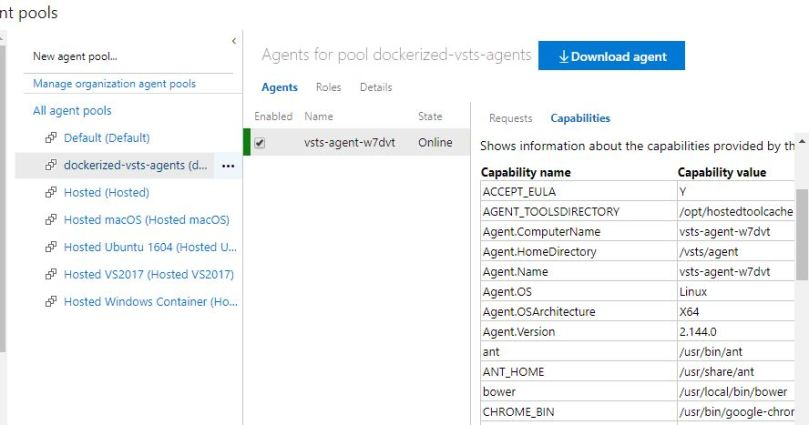 vsts-agent-running-as-k8-container