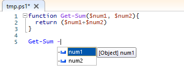 Calling Get-Sum function to understand cmdletbinding