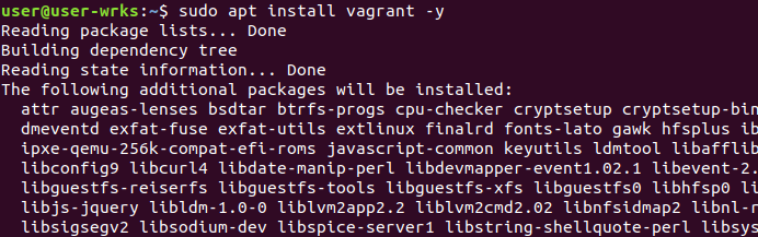 install vagrant on ubuntu