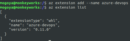 install azure devops extensions